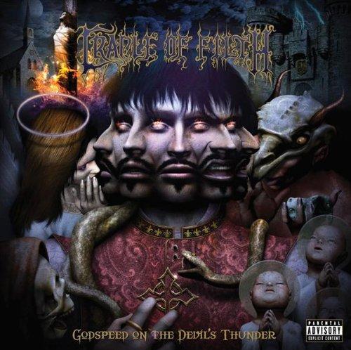 Cradle Of Filth - Godspeed On The Devil's Thunder album cover