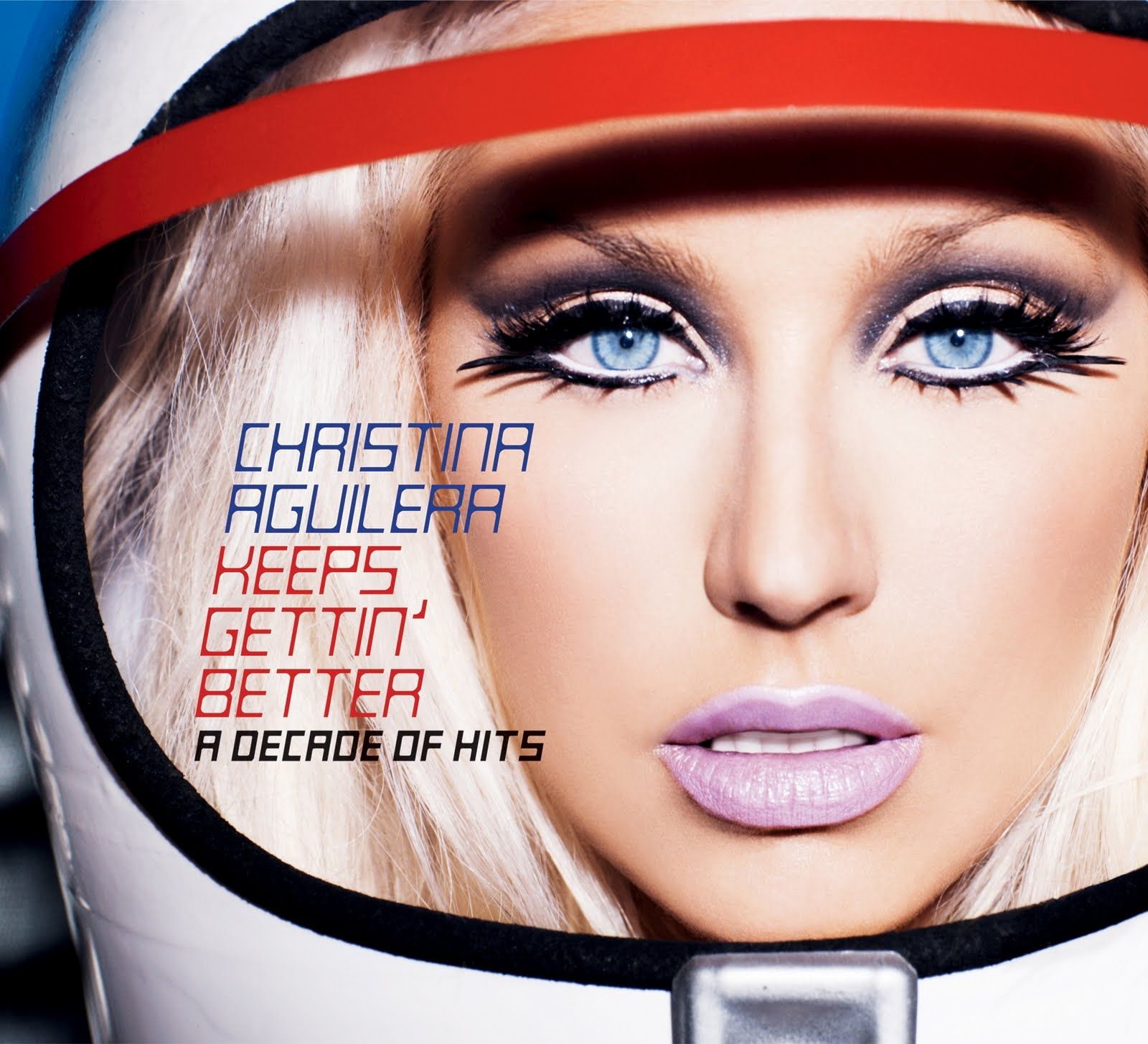 Christina Aguilera - Keeps Gettin 'better: A Decade Of Hits album cover