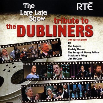 The Dubliners - The Late Late Show Tribute album cover