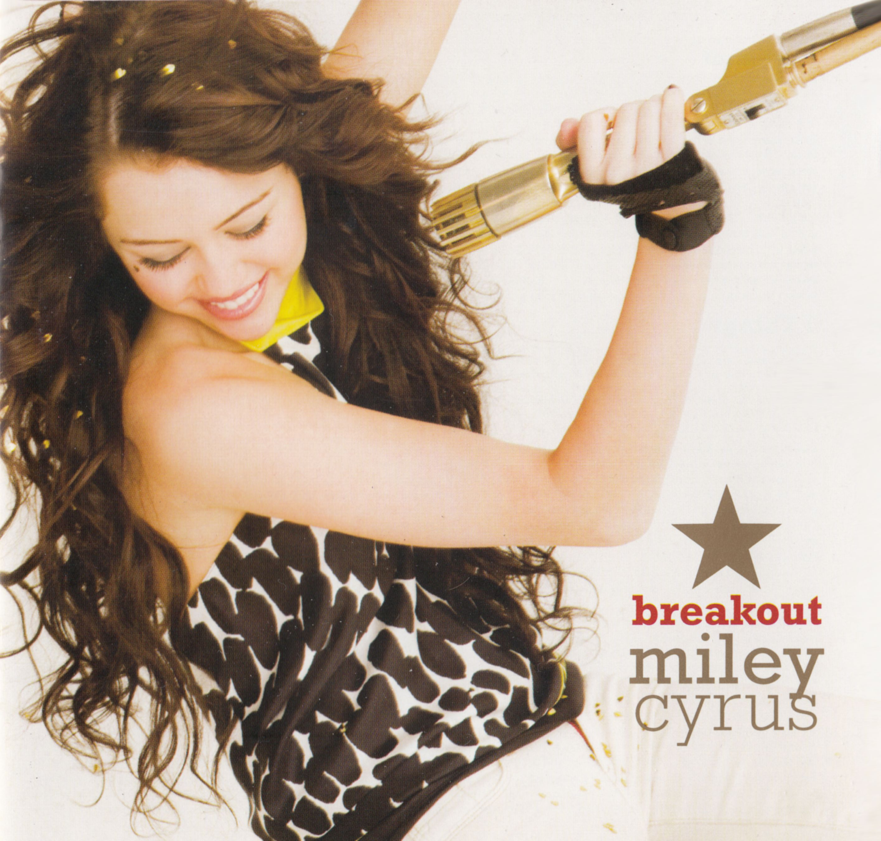 Miley Cyrus - Breakout: Platinum Edition album cover