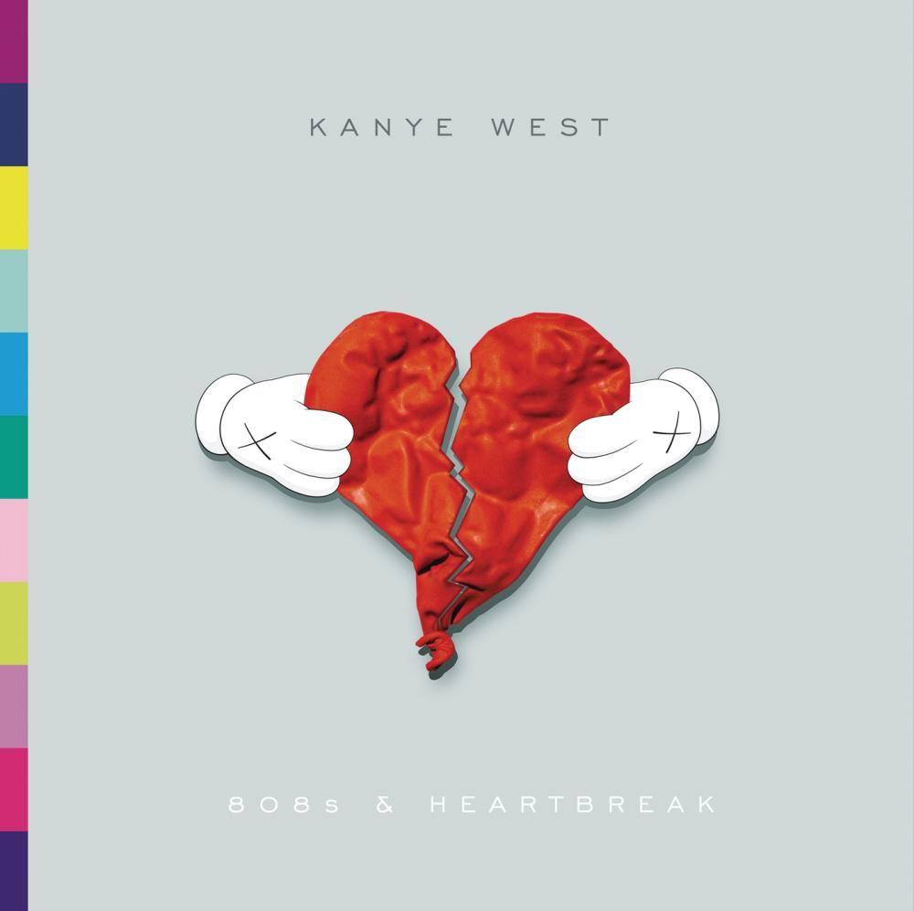 Kanye West - 808s & Heartbreak album cover