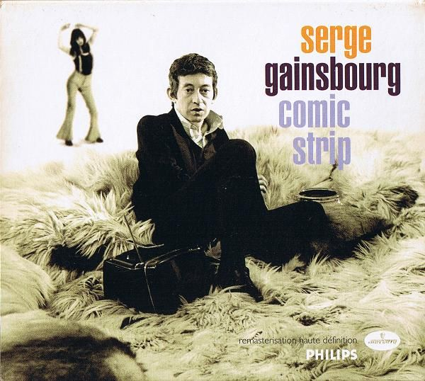 Serge Gainsbourg - Comic Strip album cover