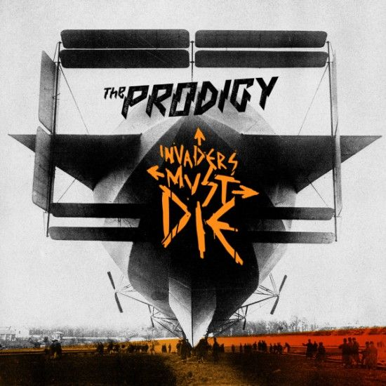 The Prodigy - Invaders Must Die album cover