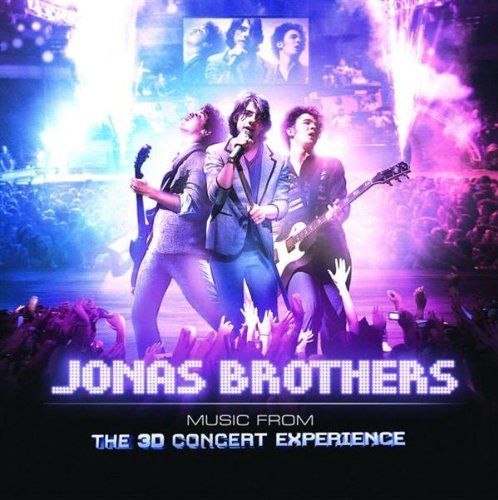 Jonas Brothers - Music From The 3d Concert Experience album cover