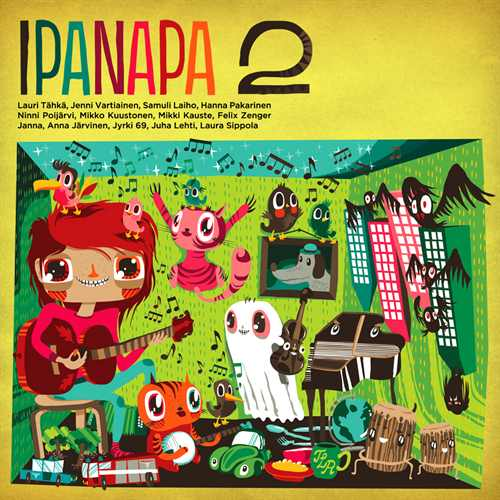 Various Artists - Ipanapa 2 album cover