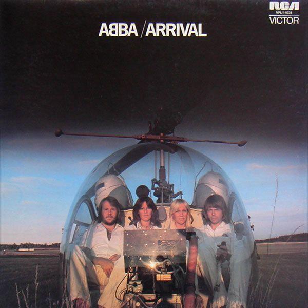 ABBA - Arrival album cover