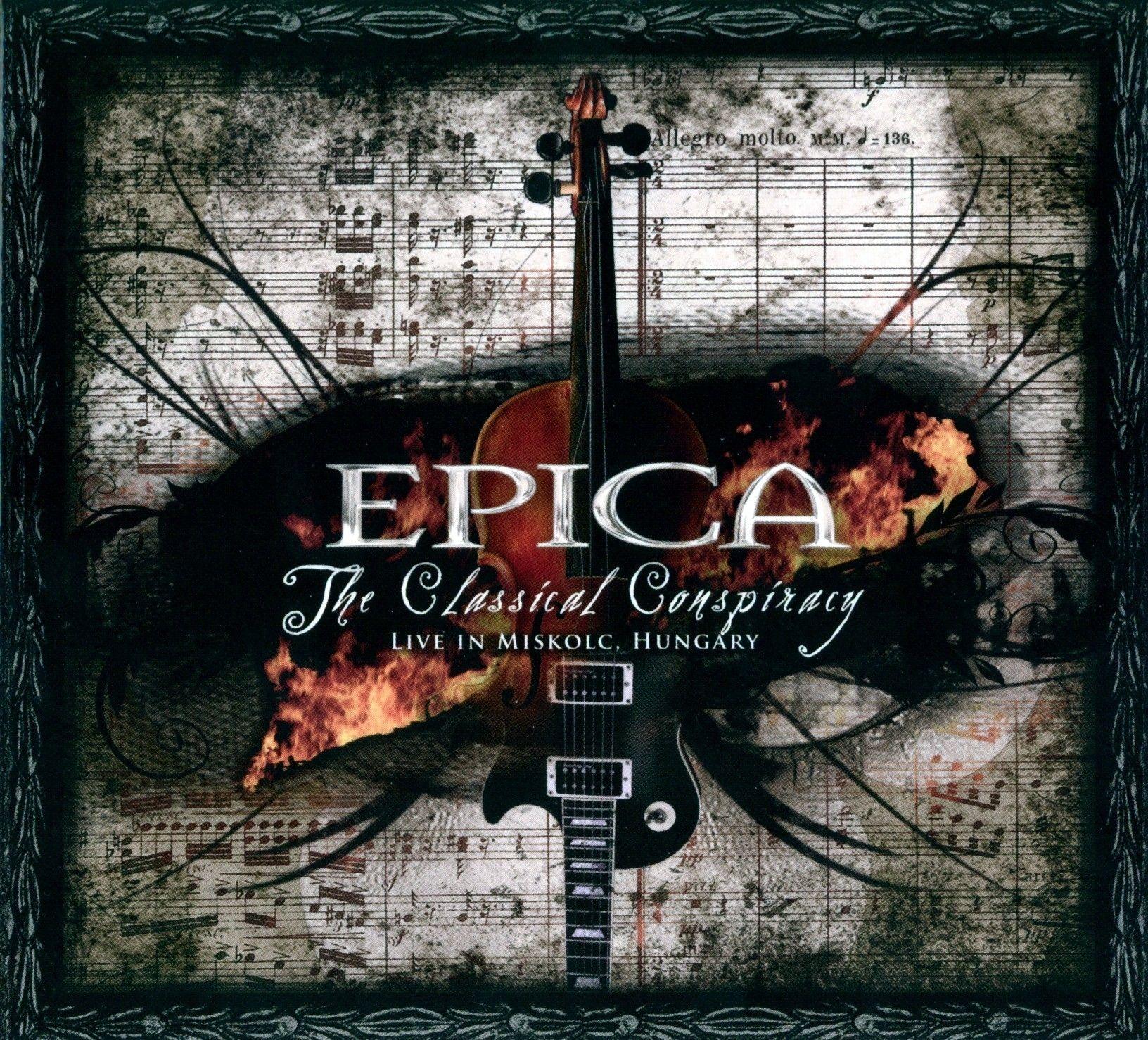 Epica - The Classical Conspiracy album cover