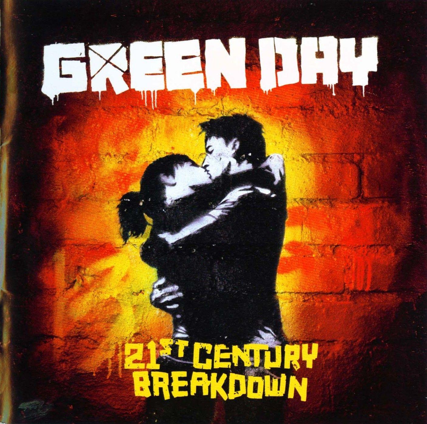Green Day - 21st Century Breakdown album cover