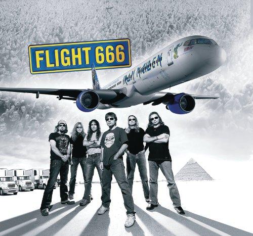 Iron Maiden - Flight 666 album cover