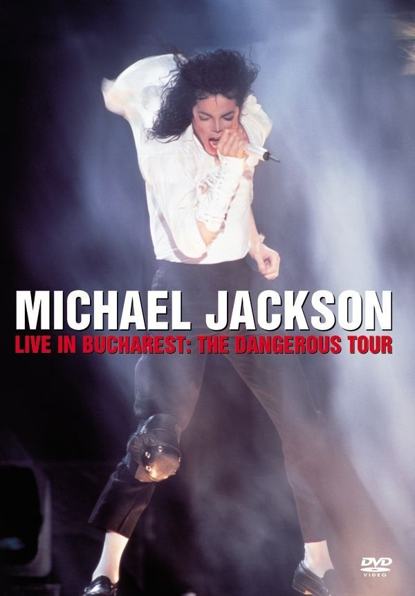 Michael Jackson - Live In Bucharest: The Dangerous Tour album cover