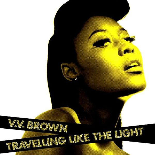 V.V. Brown - Travelling Like The Light album cover