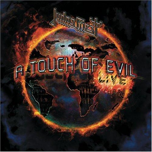 Judas Priest - A Touch Of Evil: Live album cover