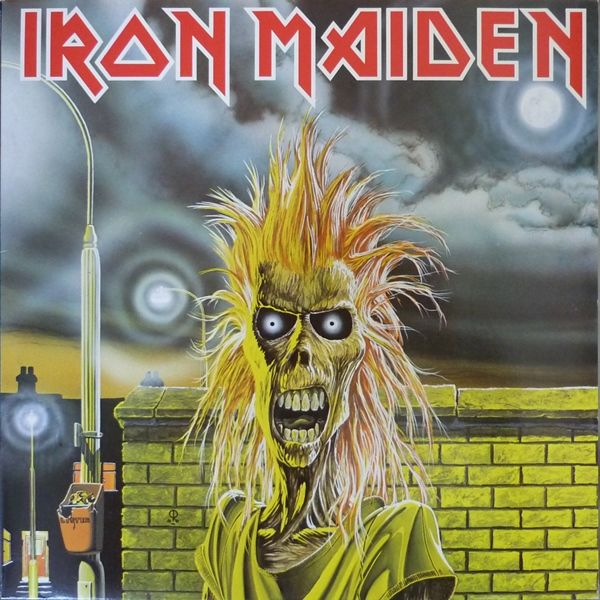 Iron Maiden - Iron Maiden album cover