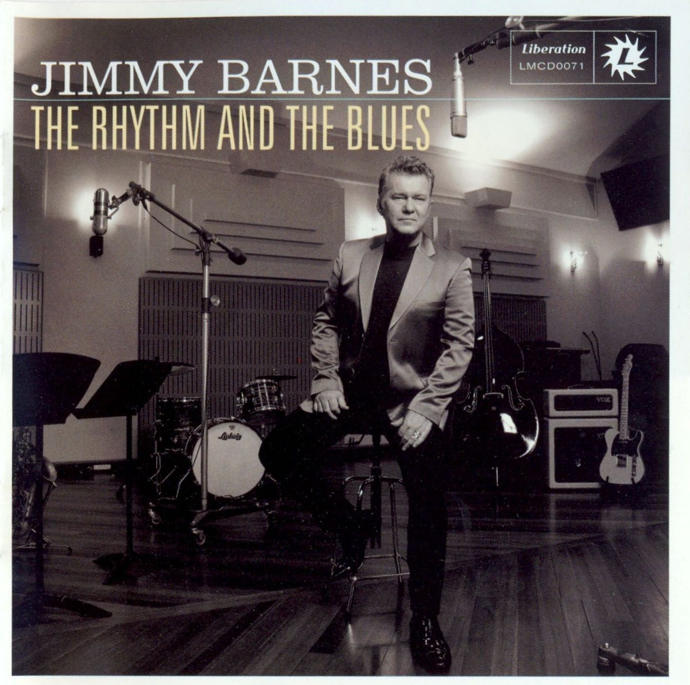 Jimmy Barnes - The Rhythm And The Blues album cover