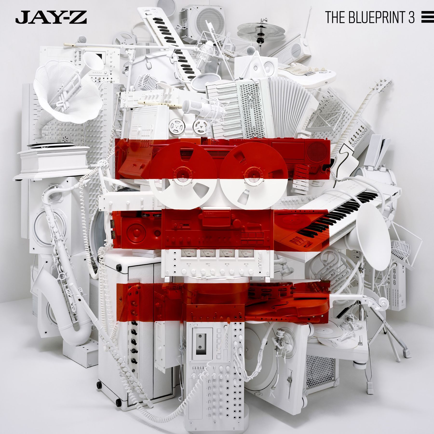 Jay-Z - The Blueprint 3 album cover