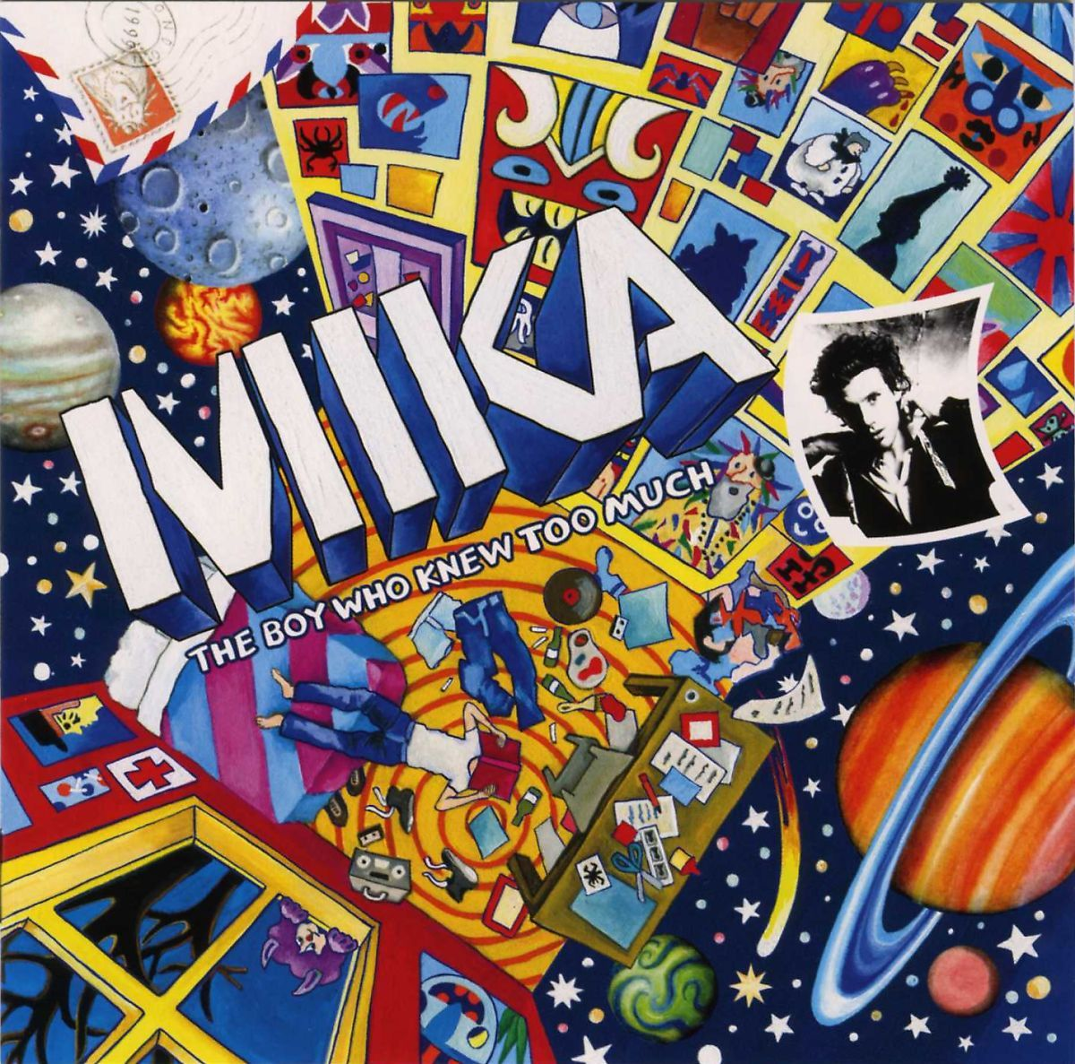 Mika - The Boy Who Knew Too Much album cover