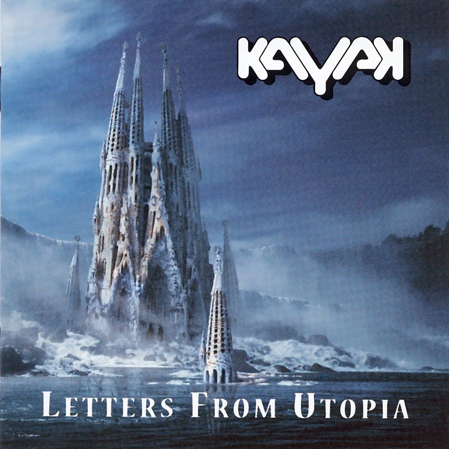 Kayak - Letters From Utopia album cover