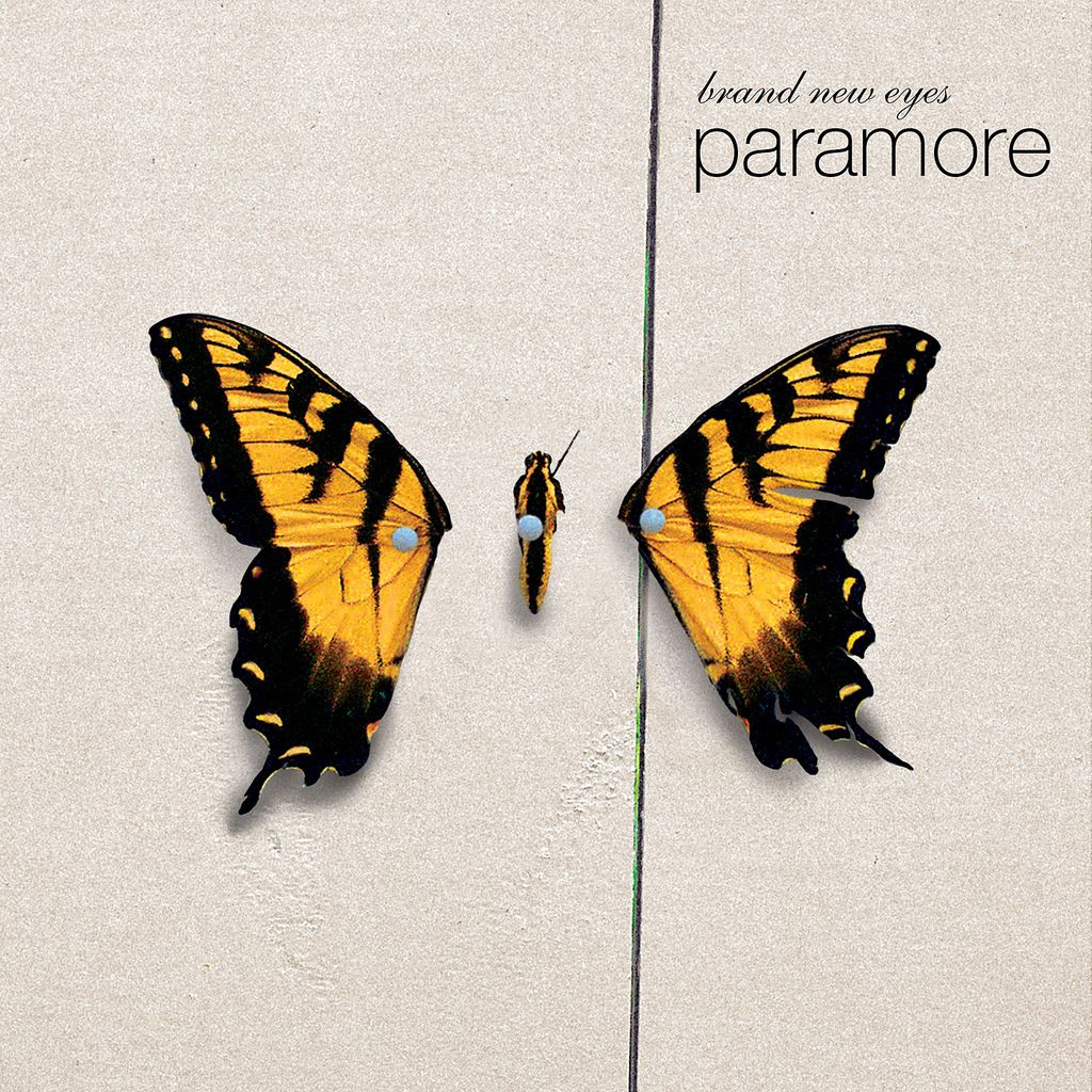Paramore - Brand New Eyes album cover