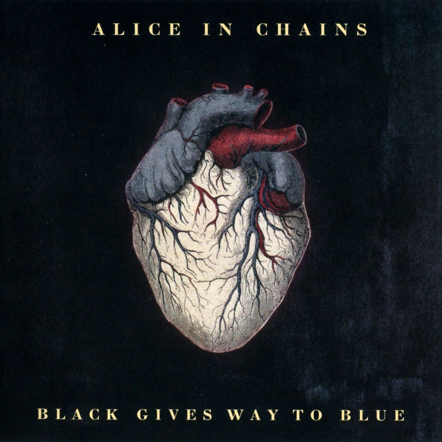 Alice In Chains - Black Gives Way To Blue album cover