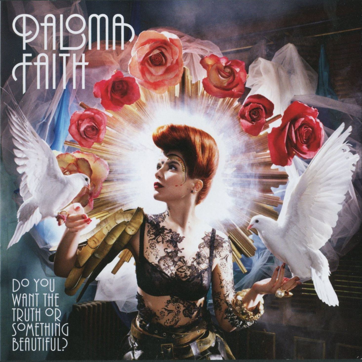 Paloma Faith - Do You Want The Truth Or Something Beautiful album cover