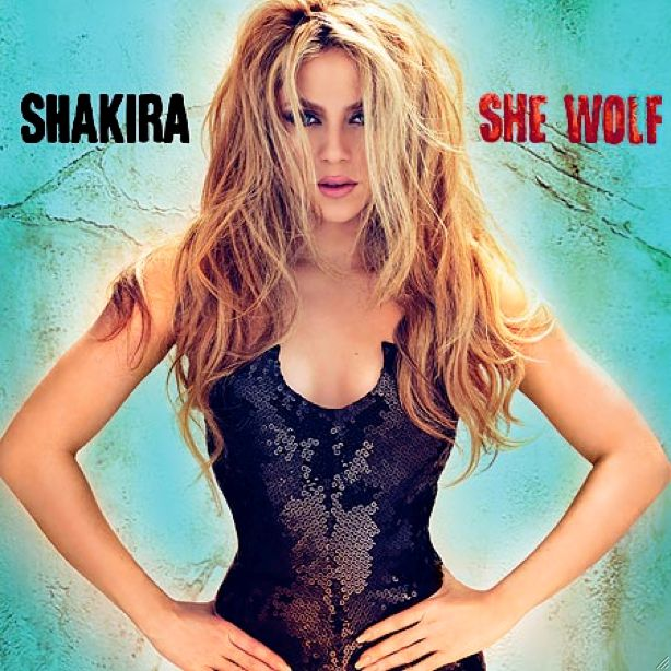 Shakira - She Wolf / Loba album cover