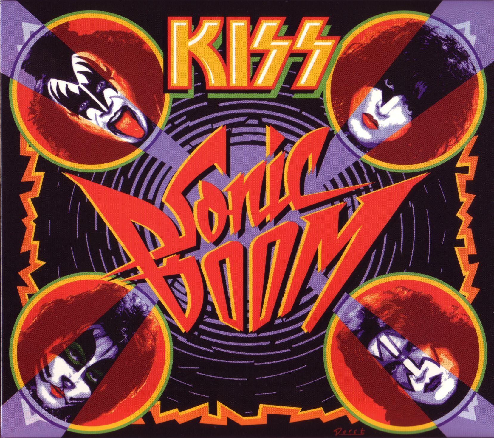 Kiss - Sonic Boom album cover