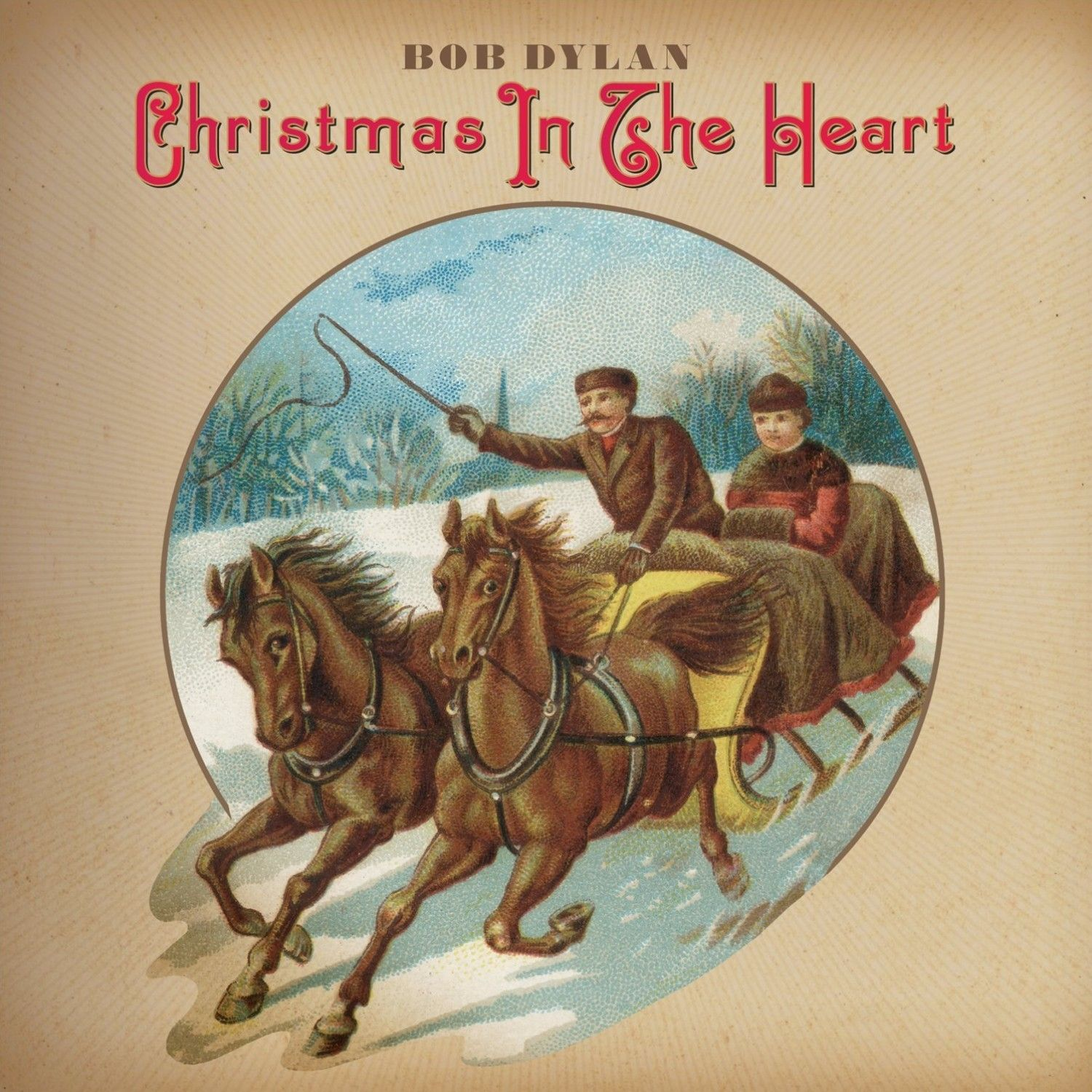 Bob Dylan - Christmas In The Heart album cover