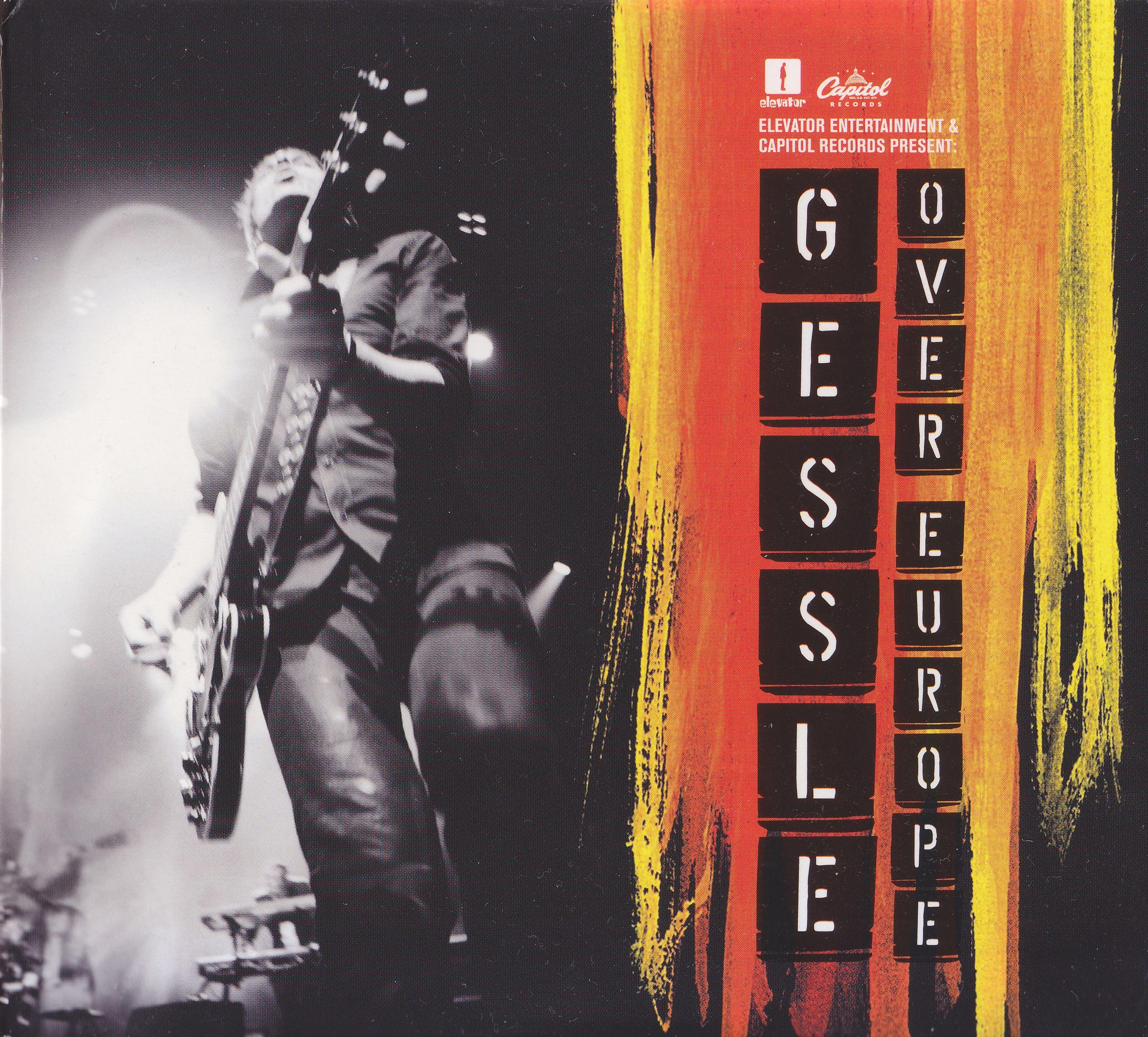 Per Gessle - Gessle Over Europe album cover