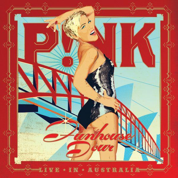 P!nk - Funhouse Tour: Live In Australia album cover