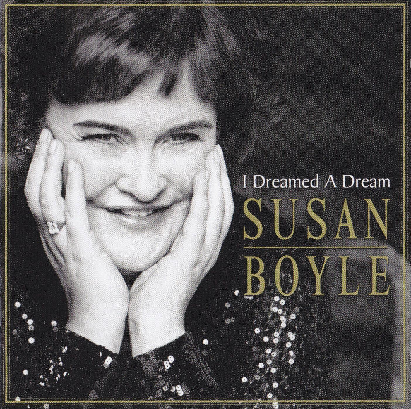 Susan Boyle - I Dreamed A Dream album cover