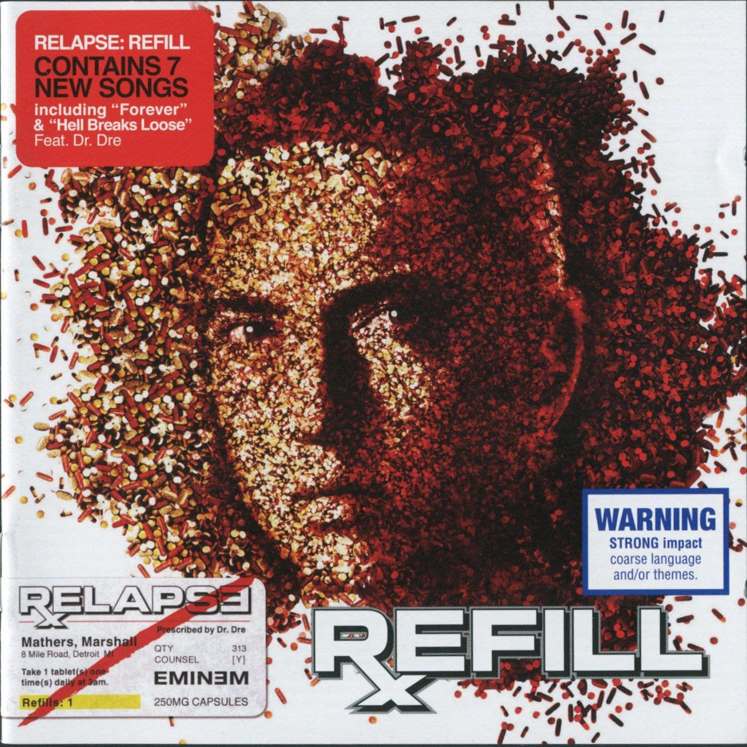 Eminem - Relapse: The Refill album cover