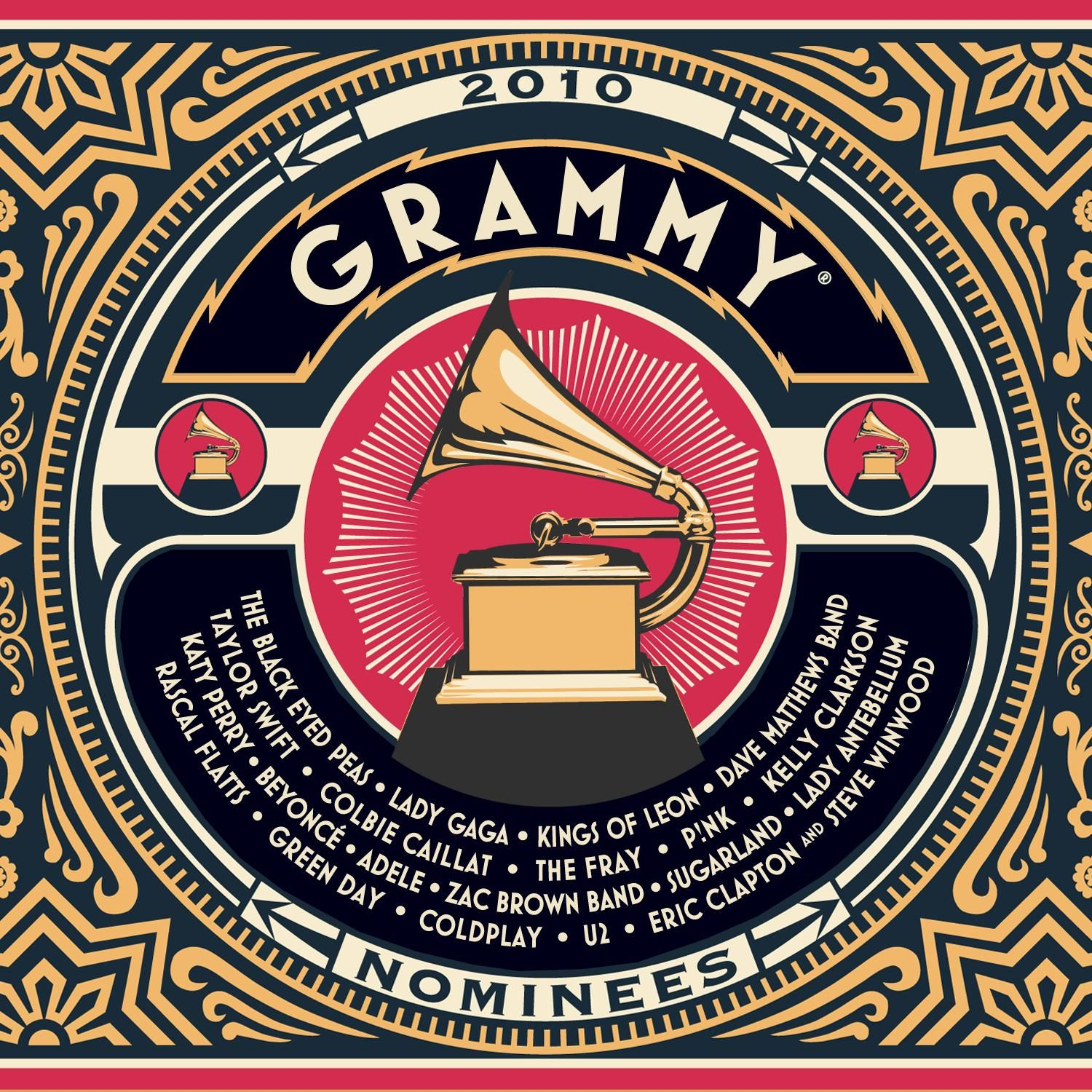 Various Artists - 2010 Grammy Nominees album cover
