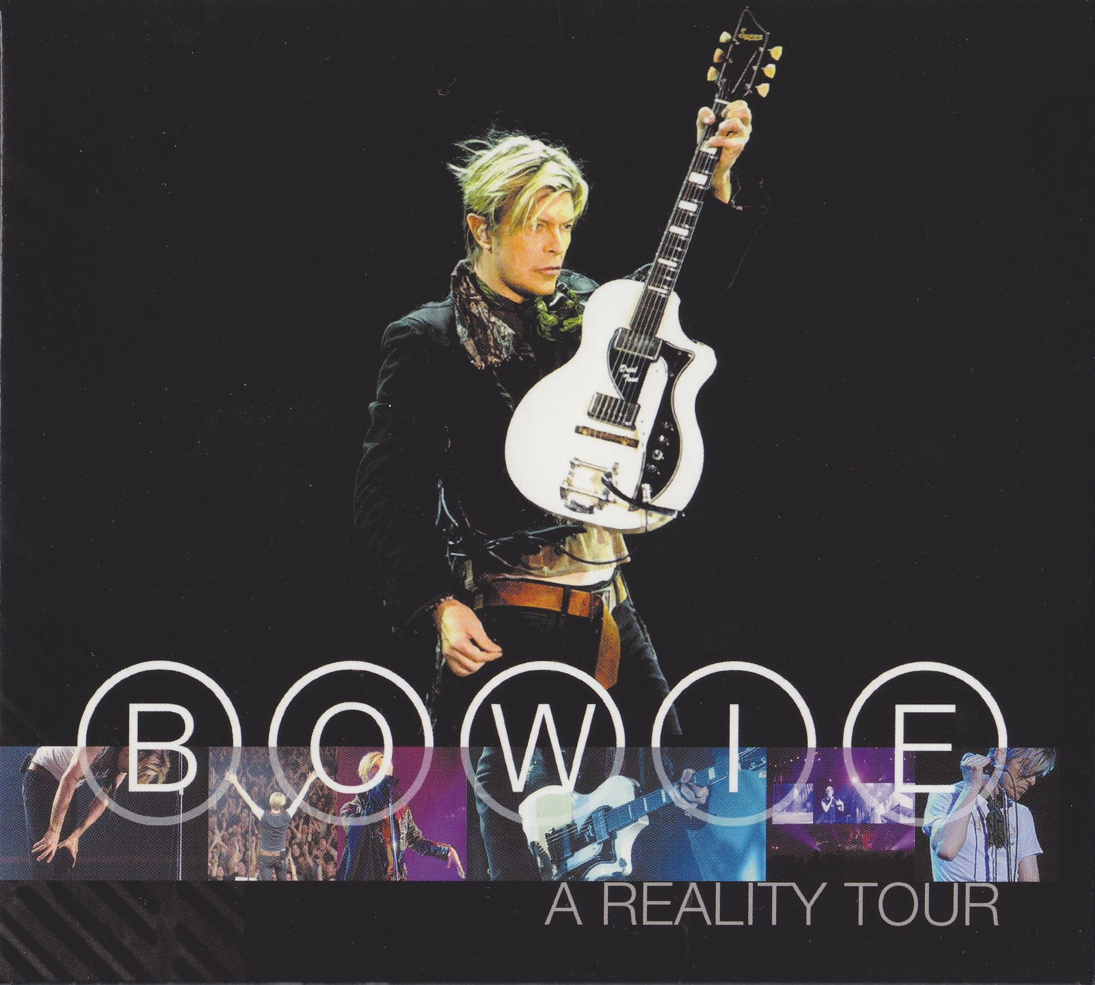 David Bowie - A Reality Tour album cover