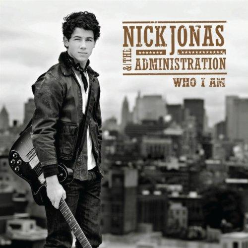 Nick Jonas - Who I Am album cover