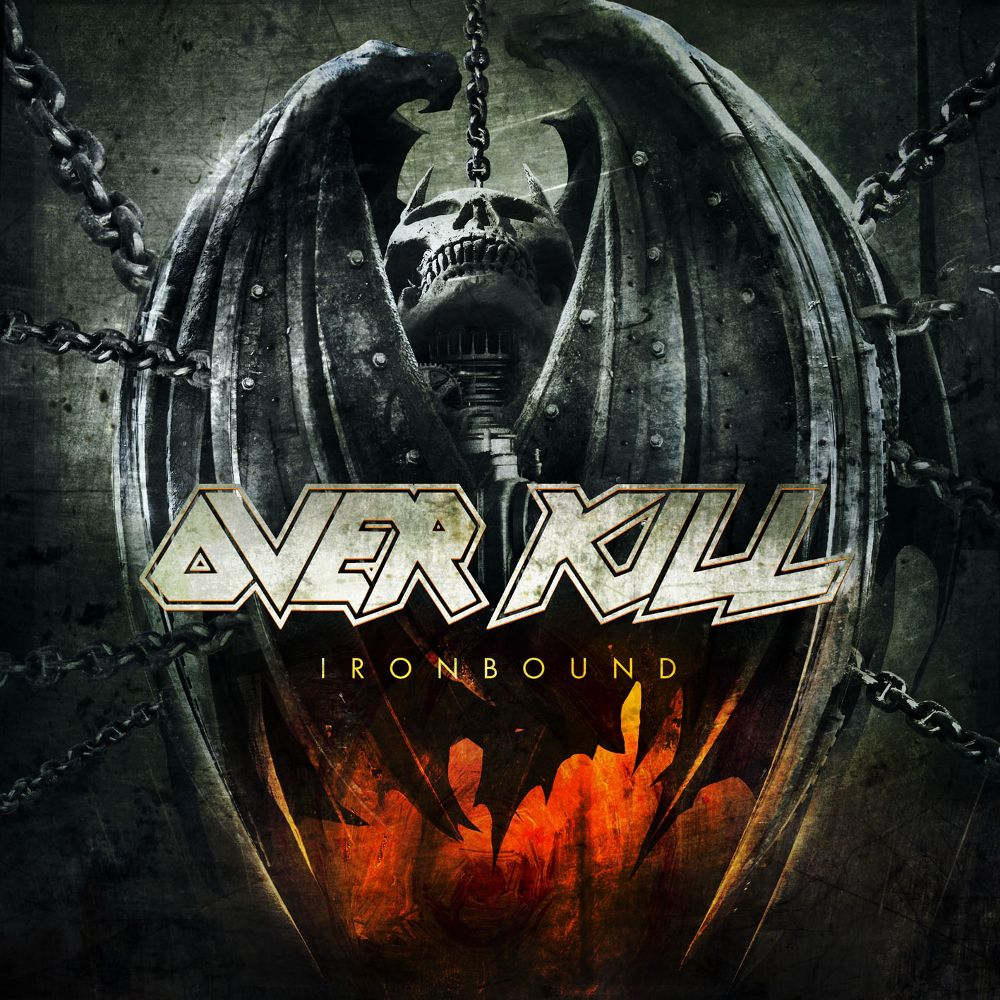 Overkill - Ironbound album cover