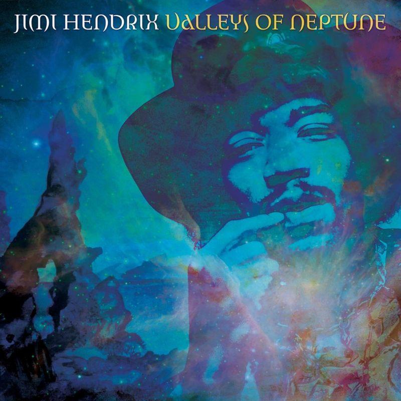 Jimi Hendrix - Valleys Of Neptune album cover