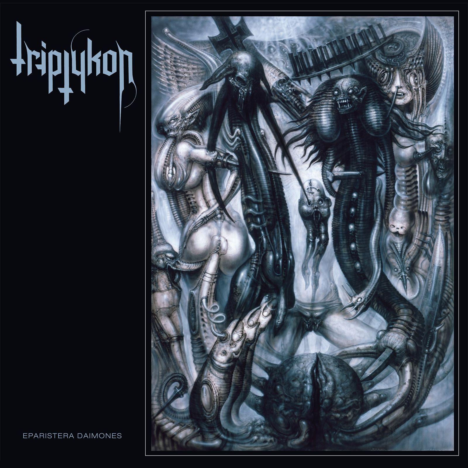 Triptykon - Eparistera Daimones album cover