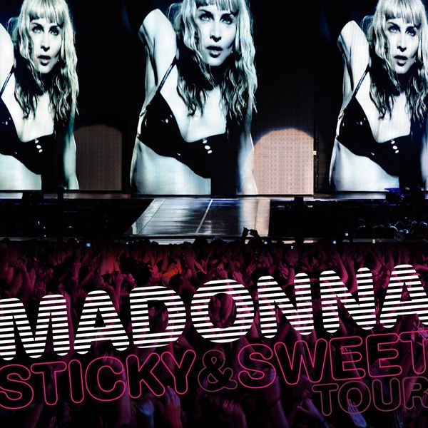 Madonna - Sticky & Sweet Tour album cover