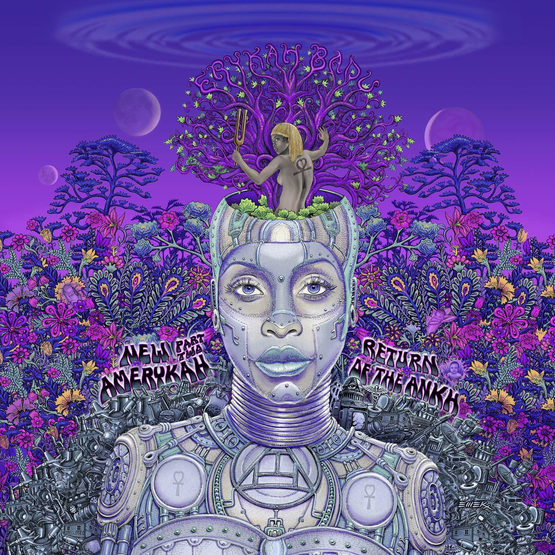Erykah Badu - New Amerykah Part Two (return Of The Ankh) album cover