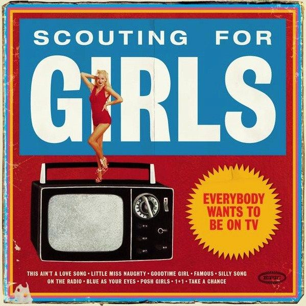Scouting For Girls - Everybody Wants To Be On Tv album cover
