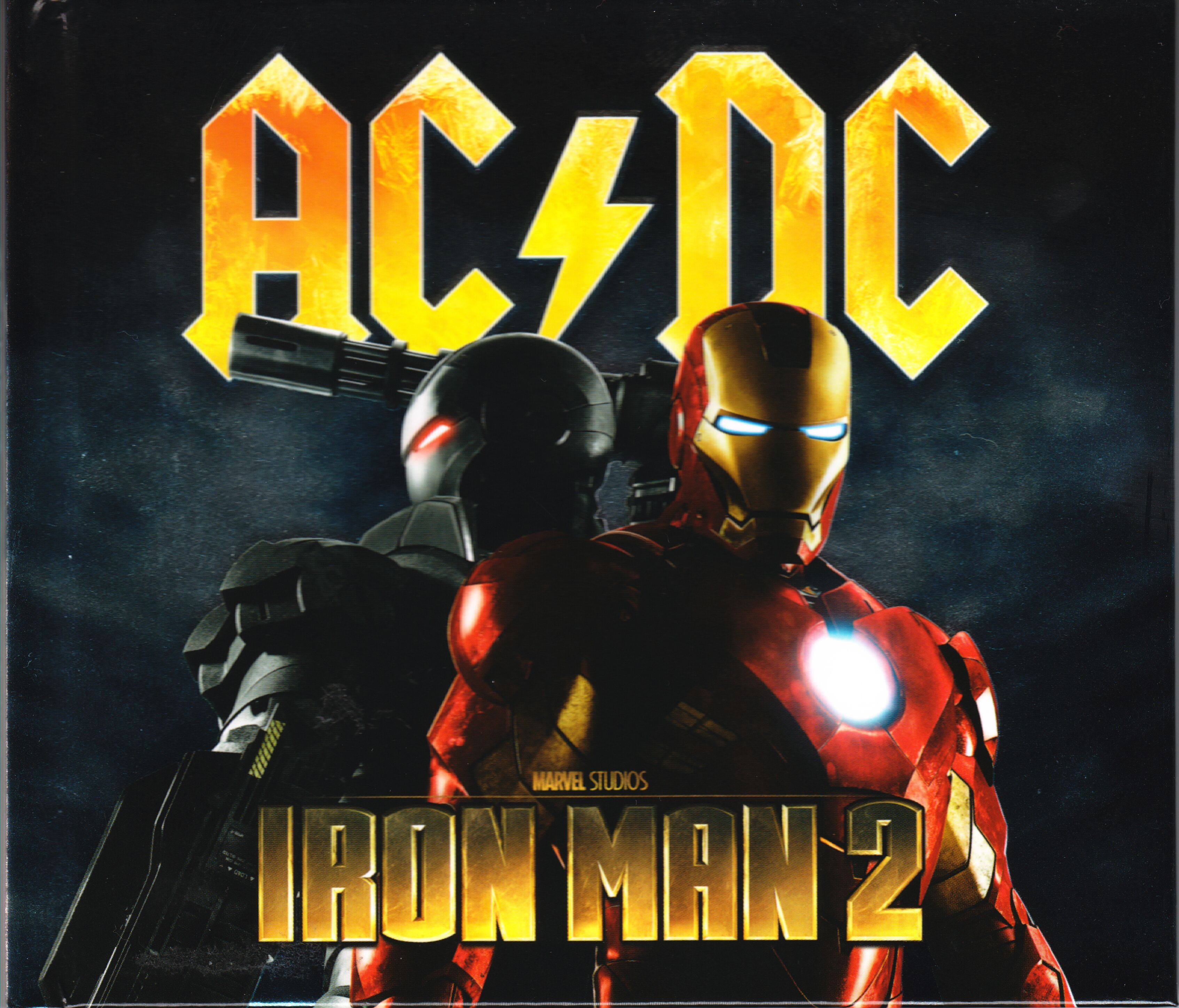 AC/DC - Iron Man 2 album cover