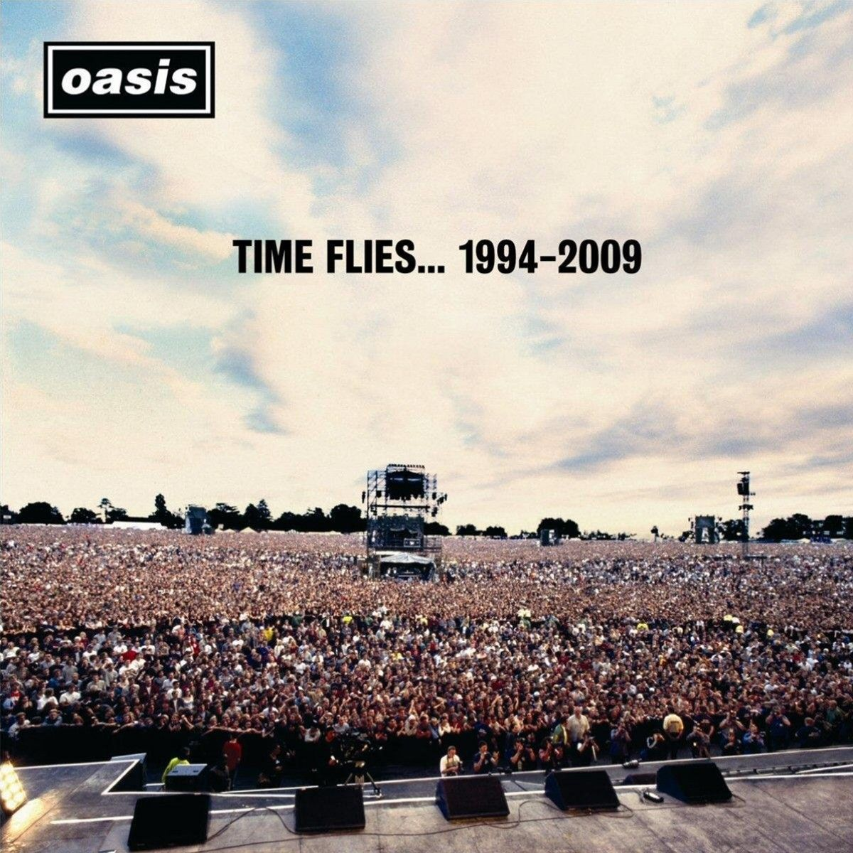 Oasis - Time Flies 1994-2009 album cover
