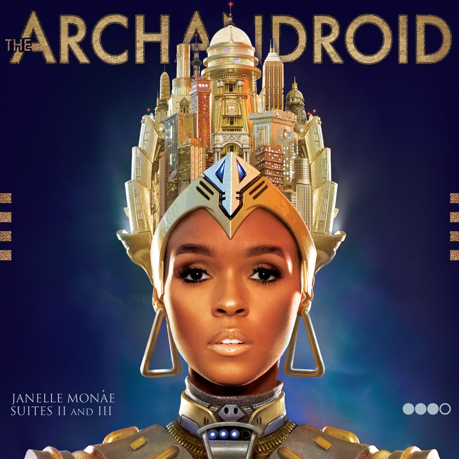 Janelle Monáe - The Archandroid album cover