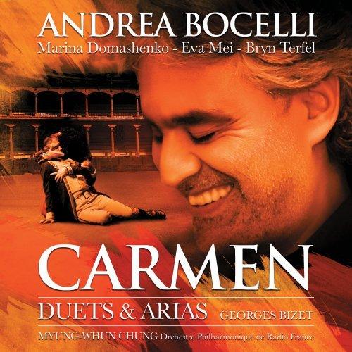 Andrea Bocelli - Carmen - Duets & Arias album cover