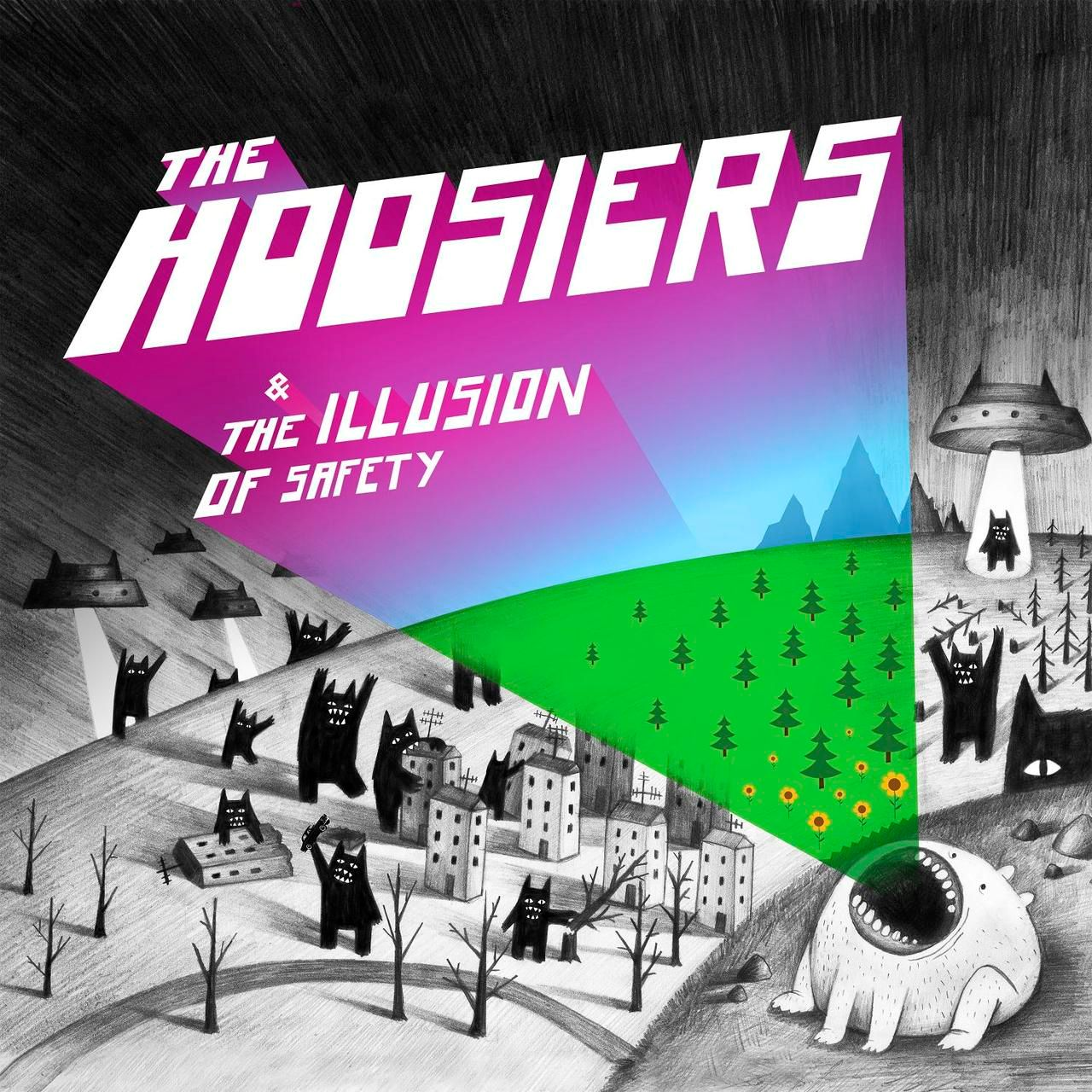 Hoosiers - The Illusion Of Safety album cover
