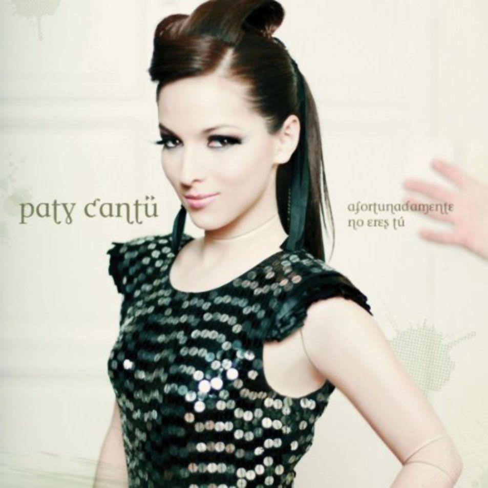 Paty Cantú - Afortunadamente No Eres Tú album cover