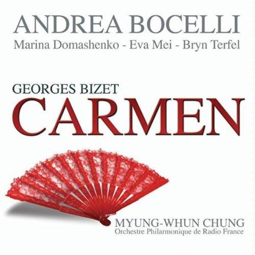 Andrea Bocelli - Georges Bizet - Carmen album cover