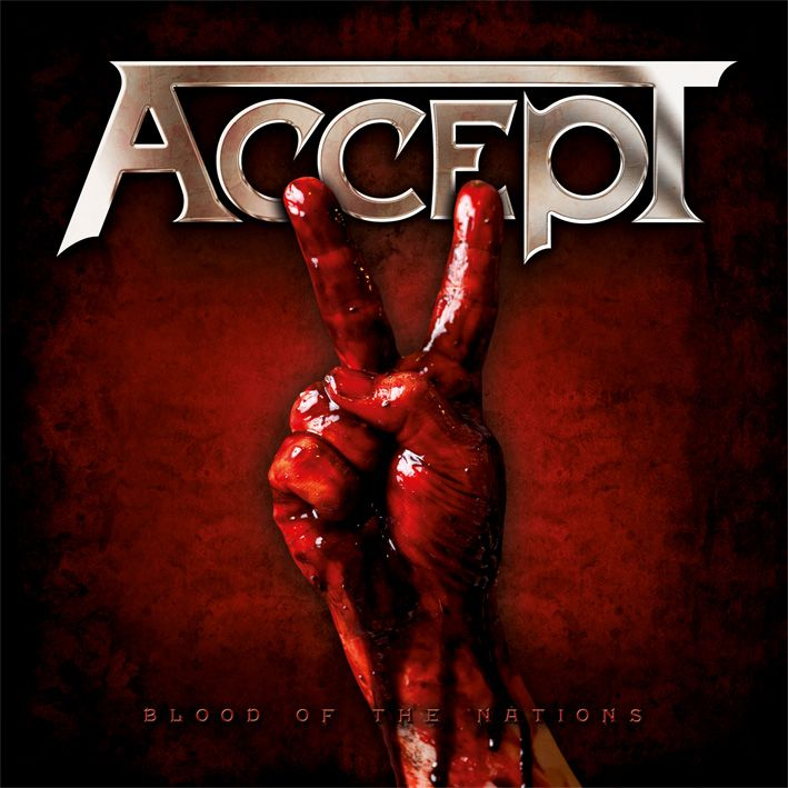 Accept - Blood Of The Nations album cover