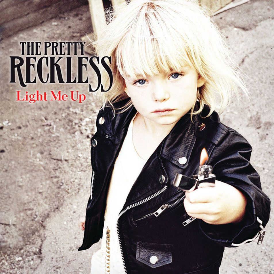 The Pretty Reckless - Light Me Up album cover