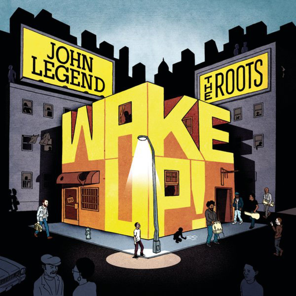 John Legend - Wake Up! album cover